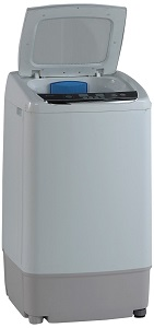 Avanti TLW09W Top Load Portable Washer for small spaces, dorm room, apartments