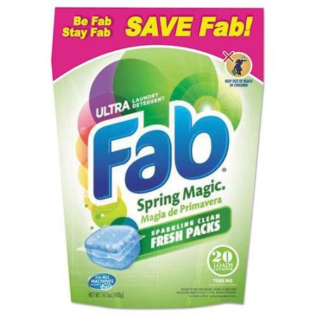 Mountain Stream Fab Toss-Ins Triple Action Laundry Detergent Pods