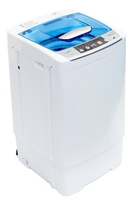 Golden Compact Portable Washing Machine for RV, Camping, Dorm Room or other Compact Environment.