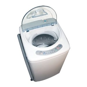 Portable Laundry Washer - Compact Washer for Small Living ...