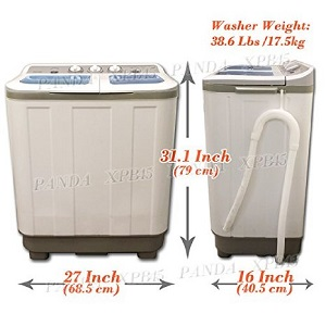 portable laundry washer compact washer for small living