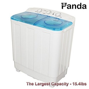 Portable Laundry Washer - Compact Washer for Small Living Spaces ...