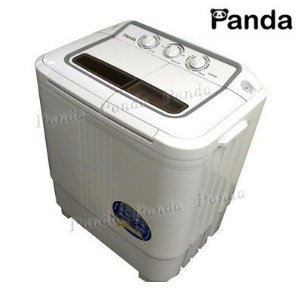 Compact Portable Washer And Spin Dryer For RV, Dorm Room, Small Spaces,  Panda