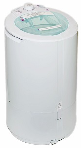 The Laundry Alternative Megs Spin Dryer, 22 pound capacity, ventless portable electric dryer
