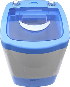 The Laundry Alternative Miniwash Portable, Compact Mini Washing Machine In  Blue